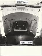 """DUNKERQUE -- ACF -- Chantiers De France -- Photo Du Car Ferry """" STENA DANICA """" -- Construit Entre 1980 Et 1982 - Boats"""