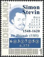 "STEVIN, S. - Mathematician, Physicist And Engineer - ""De Thiende"", Decimal Numbers, Mathematics - Individual - Wissenschaften"