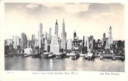 ** Lot Of/de 5 Postcards ** USA Etats-Unis ( NY ) NEW YORK CITY Manhattan : Skyline Buildings Hotels - CPSM PF 1950-60's - Manhattan