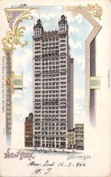 USA Etats-Unis ( NY ) NEW YORK CITY Manhattan : Sindicate Building - Jolie CPSM Colorisée Postée 1904 - Manhattan