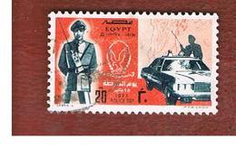 EGITTO (EGYPT) - SG 1308   - 1977  POLICE DAY  - USED ° - Usati