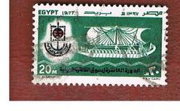 EGITTO (EGYPT) - SG 1309   - 1977  CAIRO INT. FAIR  - USED ° - Usati