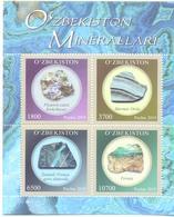 2019. Uzbekistan, Minerals Of Uzbekistan, S/s, Mint/** - Uzbekistan
