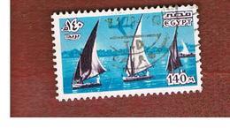 EGITTO (EGYPT) - SG 1337   - 1978  NILE FELUCCAS - USED ° - Usati