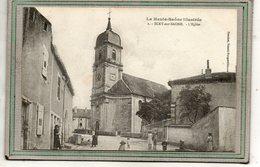 CPA - SCEY-sur-SAÔNE (70) - Aspect Du Quartier De L'Eglise En 1916 - Frankreich