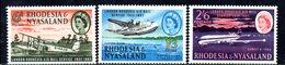 APR2129 - RHODESIA NYASALAND 1962 ,  Yvert N. 41/43   ***  MNH (2380A) - Rhodesia & Nyasaland (1954-1963)