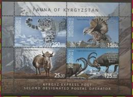 Panthère/Panter** - Rapace/Roofvogel - Kirghizistan/Kirgizië - Azerbaïdjan