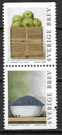 Suède 2000 2161/2162 Neufs En Paire Peintures De Philip Von Schantz - Suède