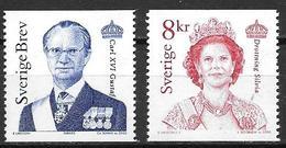 Suède 2000 2163/2164 Neufs Roi Et Reine - Sweden