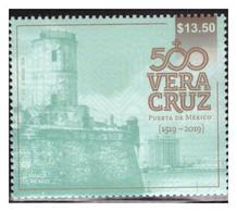 2019 MÉXICO Veracruz 500 Años, Puerta De México, MNH STAMP 500 Years Veracruz, Mexico Gate - Mexico