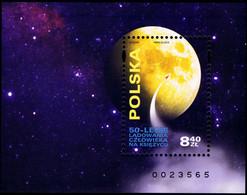 Poland 2019 Fi BLOK 337 Mi BLOCK 291 50th Anniversary Of The Landing Of Man On The Moon - 1944-.... República