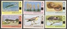 Anguilla  1979  SG  345-50  Overprints   Unmounted Mint - Anguilla (1968-...)