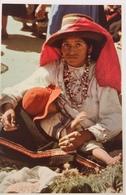 (686) Peru - Woman Of Yungay With Child. - Pérou