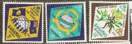 Bahamas  1970  SG   342-4   Guides Jambpree  Unmounted Mint - Bahamas (1973-...)