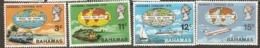 Bahamas  1970  SG   347-50  Goodwill Caravan   Unmounted Mint - Bahamas (1973-...)