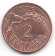 Malawi 2 Tambala 2003 - Malawi