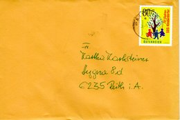 Brief Von 6112 Wattens Mit 80 Cent 70 Jahre SOS Kinderdörfer 2019 - 2011-... Briefe U. Dokumente
