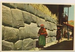 (688) Peru - Cuzco - Calle Yatun Ramiyoc - Pérou