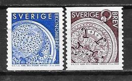 Suède 2000 2139/2140 Neufs Montre De Charles XII - Nuevos