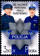 Poland 2019 Fi 4990 Mi 5140 100th Anniversary Of The Establishment Of The State Police - 1944-.... República