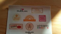 Autocollant Guerlain - Parfumkaarten