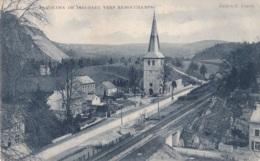 Panorama De Dieupart Vers Remouchamps Circulée En 1907 - Autres