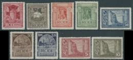 1932 EGEO PITTORICA 9 VALORI MNH ** - RA22-3 - Egée