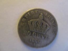 France: 20 Centimes 1866 A - E. 20 Centesimi