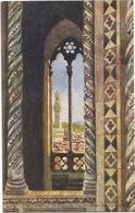 W4184 Firenze - La Torre Di Palazzo Vecchio Dal Campanile - Illustrazione Illustration / Non Viaggiata - Firenze