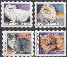 JUGOSLAVIJA - 1992 - Serie Completa Nuova MNH Formata Da 4 Valori: Yvert 2408/2411. - 1992-2003 République Fédérale De Yougoslavie