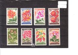 192A/8** Fleurs Diverses - Côte D'Ivoire (1960-...)