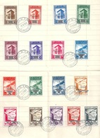 "Blatt  ""Governo Provvisorio""  (zwei Serien)           1943 - San Marino"