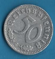 DEUTSCHES REICH 50 REICHSPFENNIG 1935 J  KM# 87 - 5 Reichspfennig