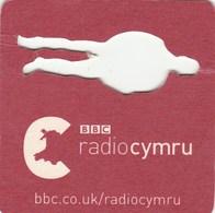 UNUSED BEERMAT - BBC RADIO CYMRU (WALES) - Bierviltjes