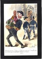 CPA Bobb Satirique Caricature Non Circulé Dessin Original Fait Main Inventaire Anticléricalisme - Satirische