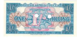 British Armed Forces, 1 Shill. 3rd SERIES, UNC. - British Armed Forces & Special Vouchers