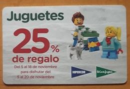 TARJETA DESCUENTO JUGUETES EL CORTE INGLES. - Otros
