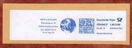 Briefstueck, Buechersendung, FRANKIT Frama 2D062.., MGS Loib Reichertshofen, 165 C, 2014 (77576) - [7] République Fédérale