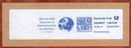 Briefstueck, Buechersendung, FRANKIT Frama 2D062.., MGS Loib Reichertshofen, 100 C, 2014 (77577) - [7] République Fédérale