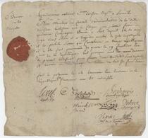Armée De La Moselle An 3 - 14.11.1794 Gendarmerie Nationale Lunéville - Documentos Históricos