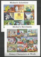 2 Pcs ST.VINCENT - MNH - Walt Disney - Disney