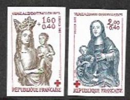 France,  Scott 2019 # B557-558,  Issued 1983,  Set Of 2 Imperf,  MNH, - France