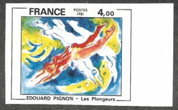 France,  Scott 2019 # 1773,  Issued 1981,  Imperf Single,  MNH - France