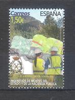 España 2019 - 1 Sellos Usado Y Circulado-Administración Del Estado-Ingenieros De Montes-Espagne Spain Spanien Spagna - 2011-... Afgestempeld