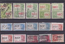 Lotje Fiscale Zegels     Kaart A 621. - Revenue Stamps