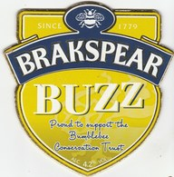 BRAKSPEAR BREWERY (HENLEY-ON-THAMES, ENGLAND) - BUZZ - PUMP CLIP FRONT - Signs