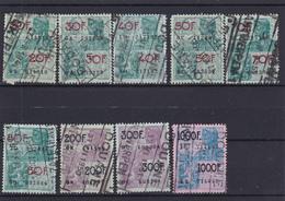 Lotje Fiscale Zegels     Kaart A 623. - Revenue Stamps