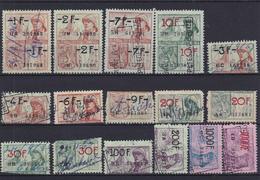 Lotje Fiscale Zegels     Kaart A 625. - Fiscali