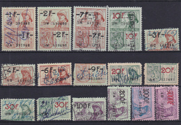 Lotje Fiscale Zegels     Kaart A 625. - Revenue Stamps