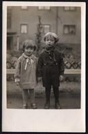 C6933 - 2 Kleine Hübsche Mädchen - Vintage - Pretty Young Girl Mode - Satrar Photo - Fotografie